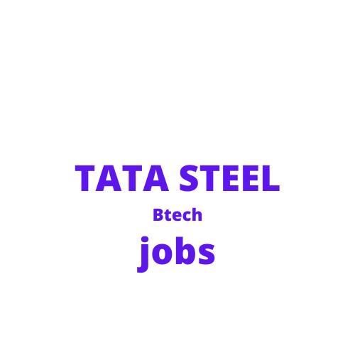 Jobs with Tata steel