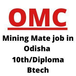 Mining mate job in Odisha