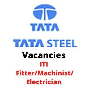 TATA STEEL recruitment ITI Electrician
