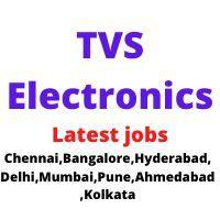 TVS Electronics ltd jobs