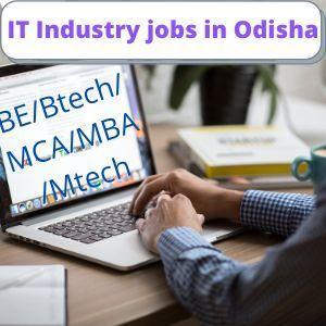IT Industry jobs in Odisha