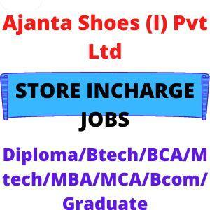 Store incharge jobs near me