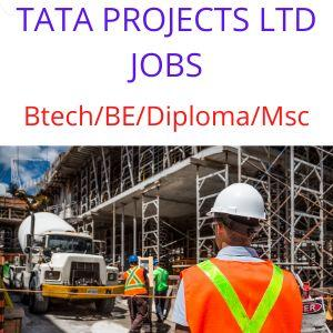 TATA PROJECTS LTD jobs