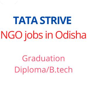 NGO jobs in Odisha