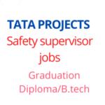 Safety supervisor jobs