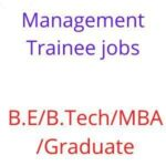 Management trainee jobs