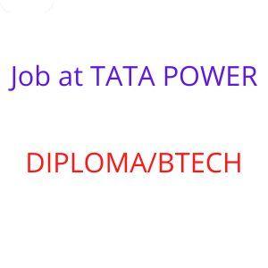 Job at TATA POWER