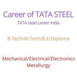 Career of TATA STEEL