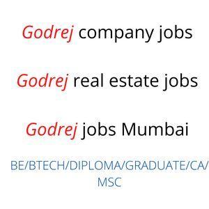 Godrej company jobs