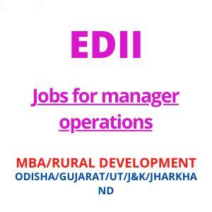 Jobs for manager operations